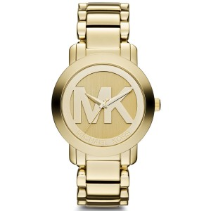 Michael Kors MK3206 Gold Tone Stainless Steel 38mm Womens Watch