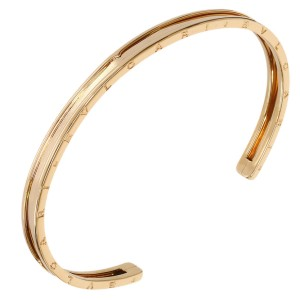 Bulgari B.Zero1 18K Pink Gold Bangle Bracelet