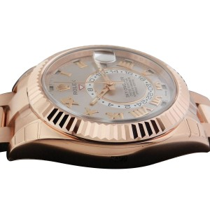 Rolex Sky Dweller Oyster Perpetual 326935 42mm Rose Gold Watch