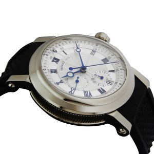 Breguet Marine Chronograph 5827bb/12/5zu 18k White Gold 42mm Watch