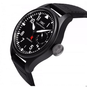 IWC Big Pilot's Watch Top Gun Ceramic IW501901 48mm Black Fabric Watch