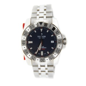 Tudor Rotor 20020 Blue Dial Automatic Stainless Steel Mens Watch