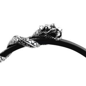 John Hardy Sterling Silver Classic Triple Naga Dragon Bracelet