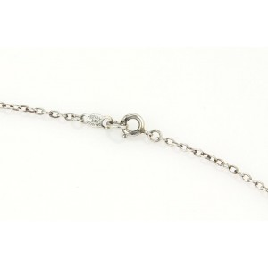 Tiffany & Co. Sterling Silver Vintage Boxer Ball Pendant Necklace
