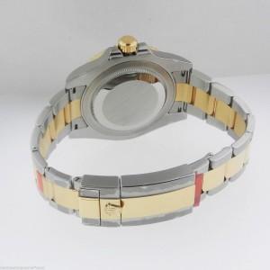 Rolex Master II 116713LN  Steel & Gold Black Dial Automatic 40mm Watch