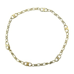 Pomellato 18K Yellow & White Gold Link Necklace