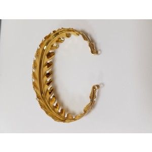 Buccellati 18K Yellow Gold Leaf Bracelet