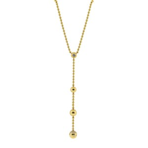 Cartier Pluie De Diamants 18K Yellow Gold 0.75 Ct Diamond Necklace