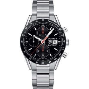 Tag Heuer Carrera CV201AK.BA0727 Stainless Steel Chronograph Tachymeter  41mm Watch