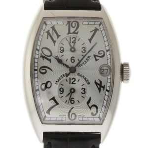 Franck Muller 5850 MB Master Banker Stainless Steel Silver Dial 32mm x 45mm Watch
