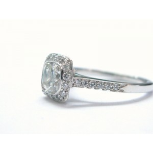 Tiffany & Co. Platinum Legacy Diamond Ring