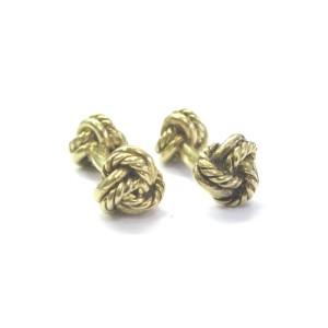 Tiffany & Co. 18K Yellow Gold Knot Cufflinks