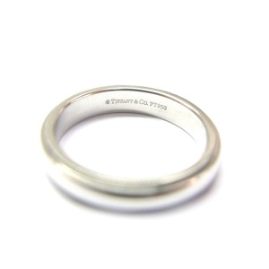 Tiffany & Co Platinum Mil-Grain Wedding Band Ring