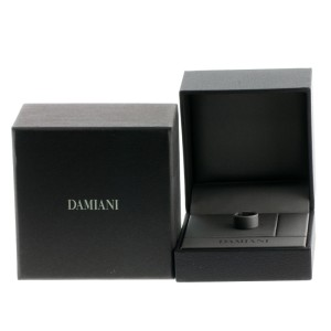 Damiani 18K White Gold Ring