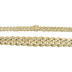 Gucci 18K Yellow Gold Diamond Chain Necklace