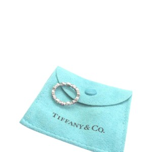 Tiffany & Co. Platinum Swing Jazz Pink Sapphire Diamond Ring
