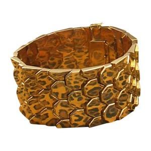 Mid-Century Rose Gold Bracelet