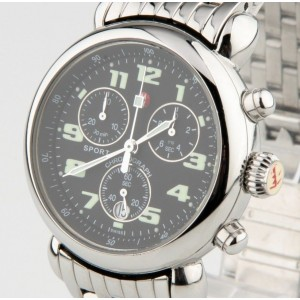 Michele Stainless Steel Chronograph Sport Quartz MW01A00 With Date 35mm Watch