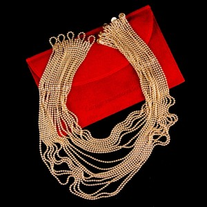 Cartier Draperie de Decollete 18K Yellow Gold Necklace