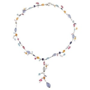 Cartier Meli Melo Platinum & Gemstone Necklace and Pendant Set