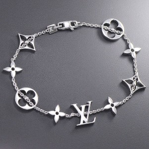 Louis Vuitton 18K White Gold Bracelet