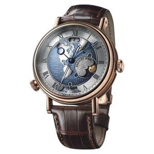 Breguet Hora Mundi 5717BR/US/9ZU 18K Rose Gold 44mm Mens Watch