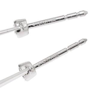Tiffany & Co. Pt950 Platinum Jazz Drop Diamond Earrings
