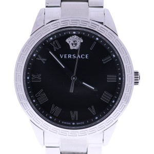 Versace V-Sport P6Q99FD008S099 Black Dial Stainless Steel 34mm Womens Watch 2016