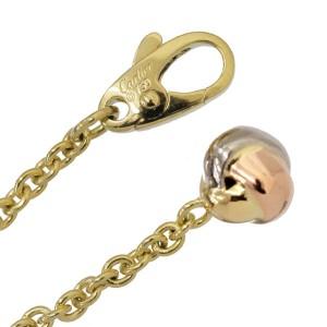 Cartier Baby Trinity 18K Yellow, Pink & White Gold Bracelet