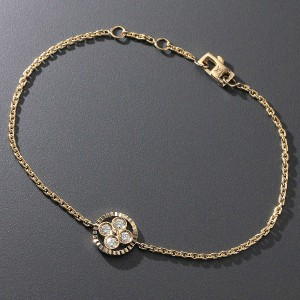 Louis Vuitton 18K Pink Gold and Diamond Bracelet