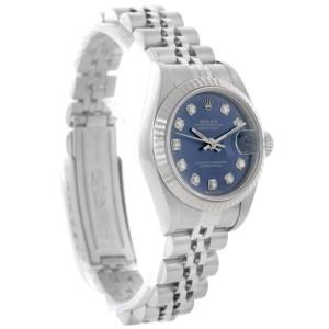 Rolex Datejust  79174 Stainless Steel & 18K White Gold Diamond 26mm Watch