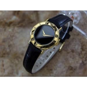 Gucci Gold-Tone 3000.2L Swiss Made Quiartz 26mm Dress Watch