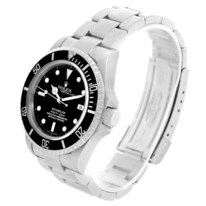 Rolex Seadweller 16600 Stainless Steel Black Dial Automatic 40mm Watch