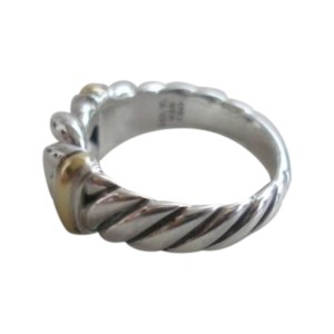 David Yurman  Sterling Silver Metro Narrow Curb Ring