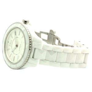 Christian Dior VIII CD1245E3C001 38mm White Ceramic Automatic Watch