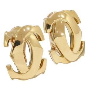 Cartier 18K Yellow Gold Penelope Double C Earring