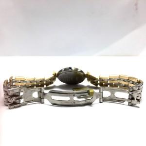 Cartier 18K Yellow Gold & Stainless Steel Quartz 23.5 mm Womens Watch