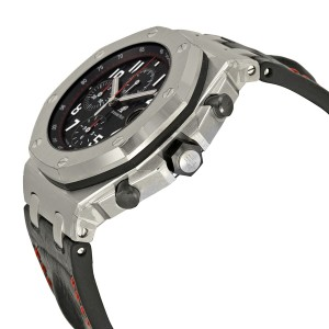 Audemars Piguet Royal Oak Offshore Stainless Steel & Leather 42mm Watch