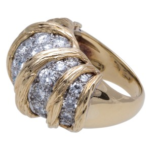 Van Cleef & Arpels YG Diamond Ring