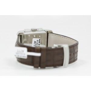 Baume & Mercier Hampton Chronograph Salmon Dial Alligator Strap Watch