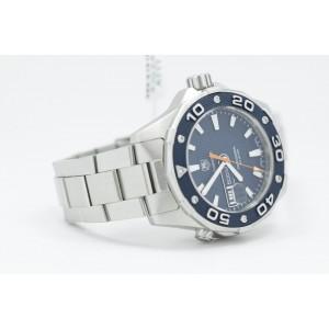 Tag Heuer Aqua Racer WAJ1112 500M Quartz Diver Mens Watch
