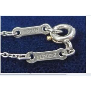 Tiffany & Co. 950 Platinum Peretti Open Heart Pendant & Necklace