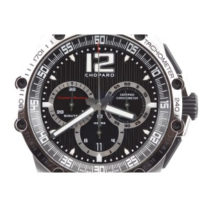 Chopard Classic Racing Super Fast Chronograph 168523-3001 Rubber Strap Watch