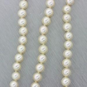 Mikimoto 18K Yellow Gold Akoya Pearl Choker Strand Necklace