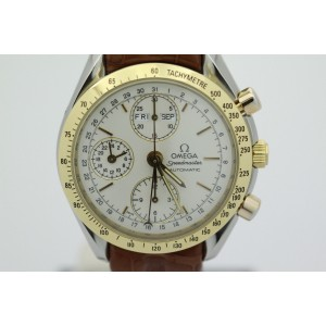 Omega Speedmaster Day Date O33213000 Stainless Steel and Yellow Gold 39mm Mens Watch