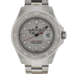 Rolex Yachtmaster 16622 Stainless Steel and Platinum Bezel 40mm Watch