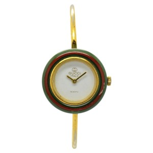 Gucci Gold Plated Quartz 26mm Womens Watch