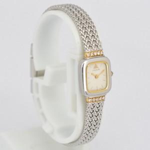Seiko Credor 1E70-5130 Stainless Steel & 18K Yellow Gold Quartz 14.5mm Womens Watch