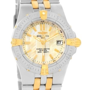 Breitling Starliner B71340 Stainless Steel and 18K Yellow Gold Quartz 30mm Womens Watch