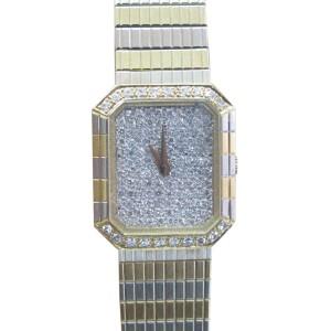Concord 18K Yellow Gold & Diamond Quartz Watch